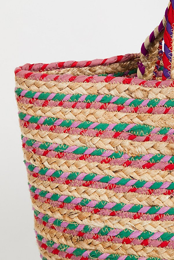 Slide View 4: Mirage Jute Tote