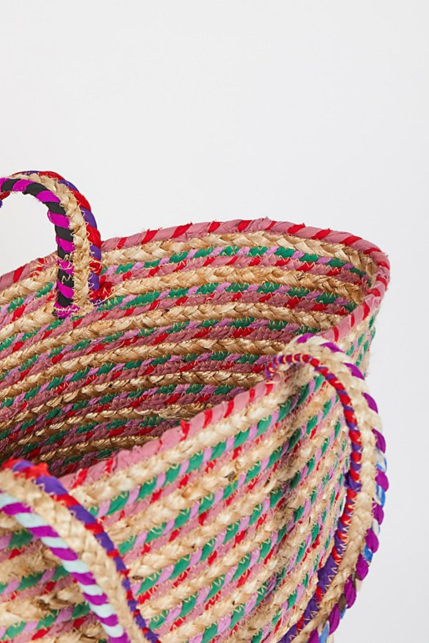 Slide View 5: Mirage Jute Tote
