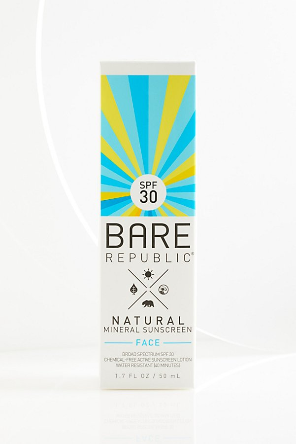 Slide View 1: Mineral SPF 30 Face Sunscreen Lotion
