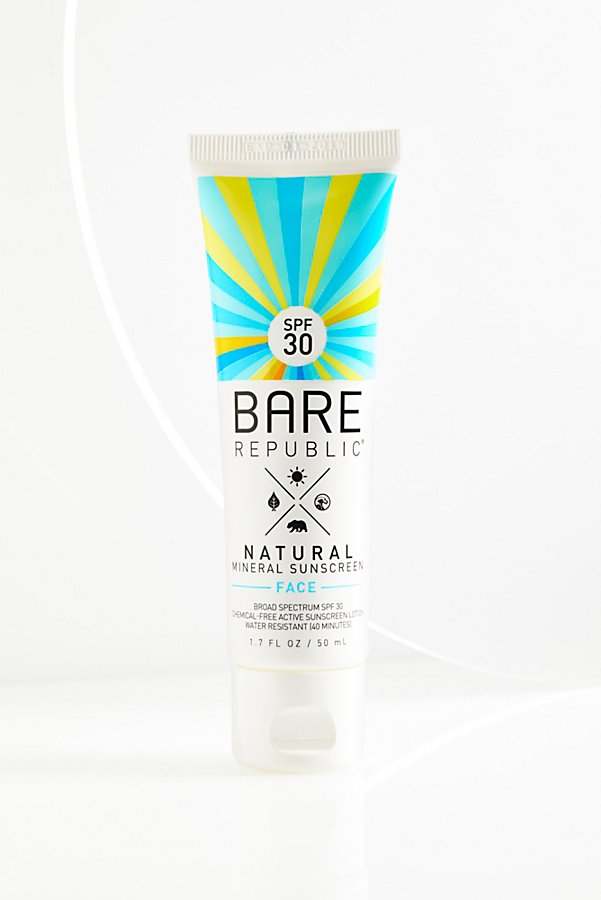 Slide View 2: Mineral SPF 30 Face Sunscreen Lotion