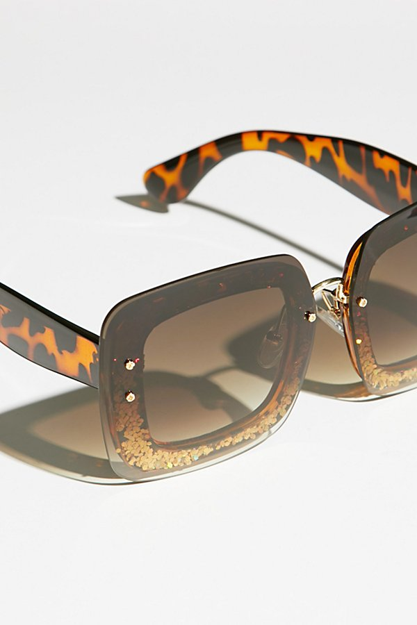 Slide View 4: Cosmopolitan Glitter Sunglasses