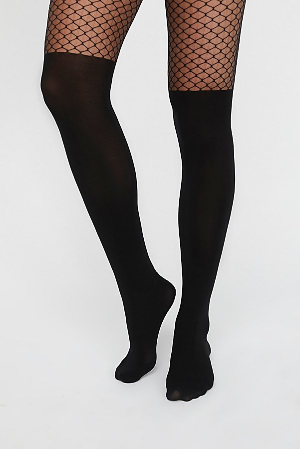 Slide View 2: It's You Fishnet Tights