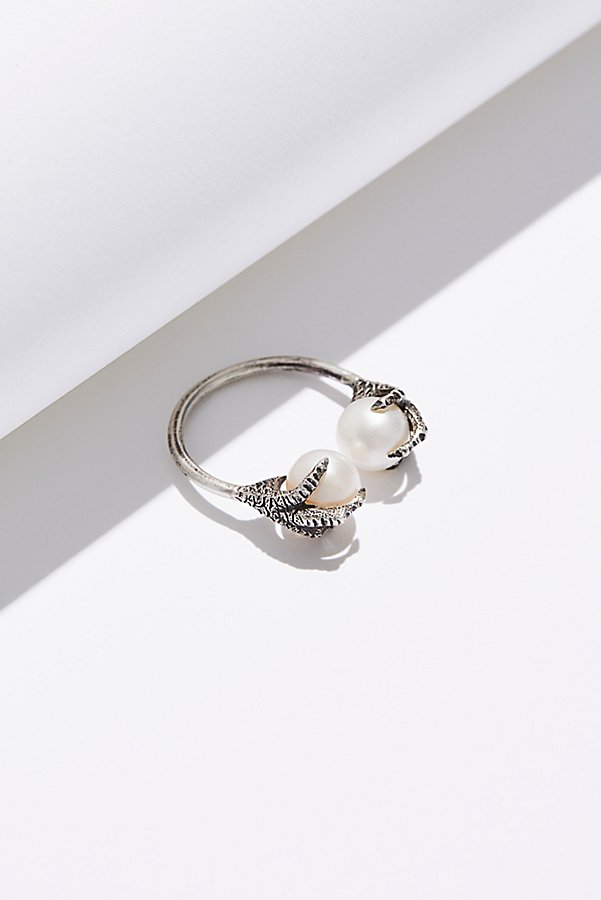 Slide View 1: Altaira Sterling Pearl Ring