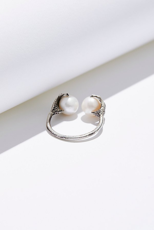 Slide View 2: Altaira Sterling Pearl Ring