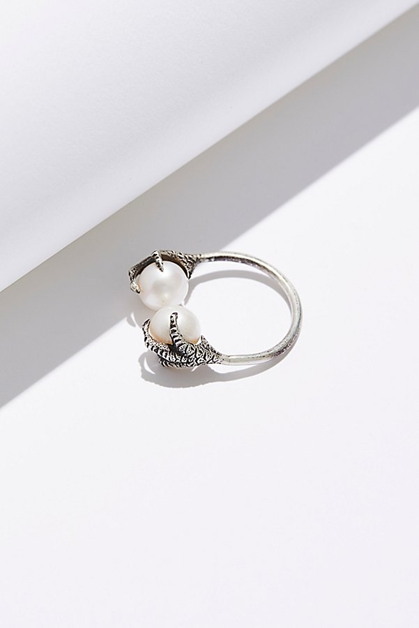 Slide View 3: Altaira Sterling Pearl Ring