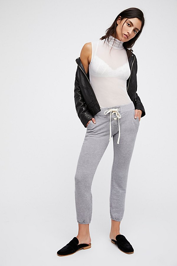 Slide View 1: Super Soft Lace Up Sweats