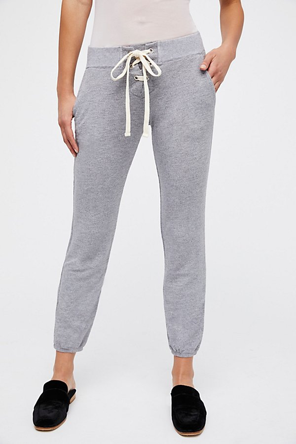 Slide View 2: Super Soft Lace Up Sweats