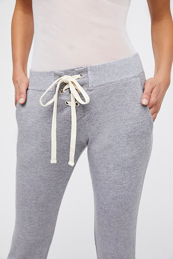 Slide View 4: Super Soft Lace Up Sweats