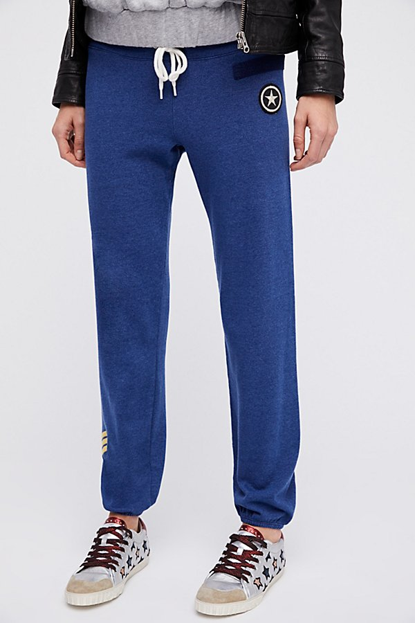 Slide View 2: Military Patch Sweatpants