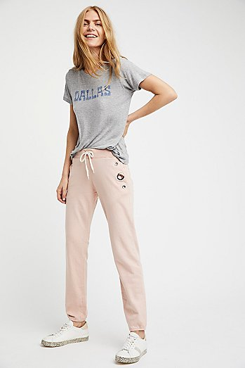Sweats With Eyelets