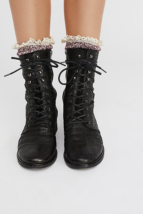 Slide View 1: Fort Night Lace Up Boot