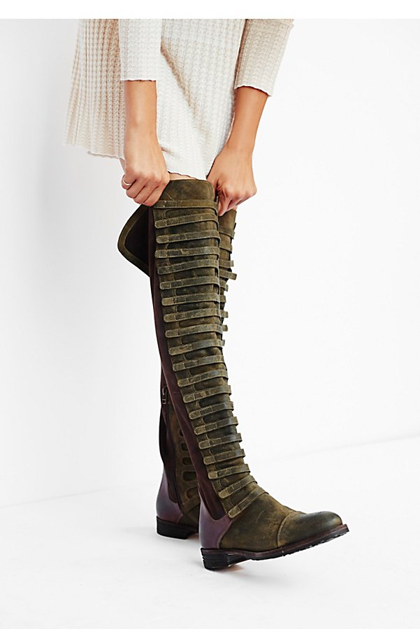 Slide View 1: Black Forest Over-The-Knee Boot