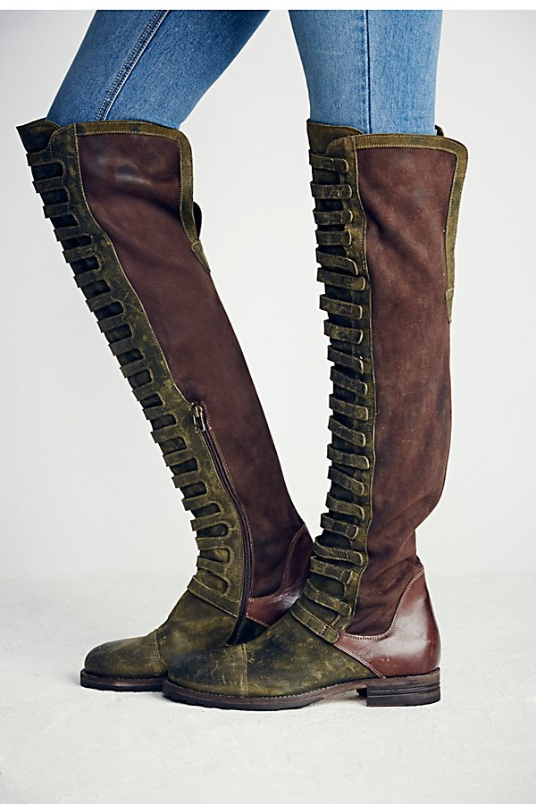 Slide View 6: Black Forest Over-The-Knee Boot