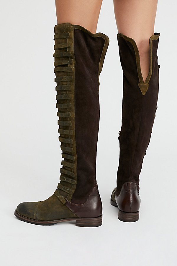 Slide View 3: Black Forest Over-The-Knee Boot