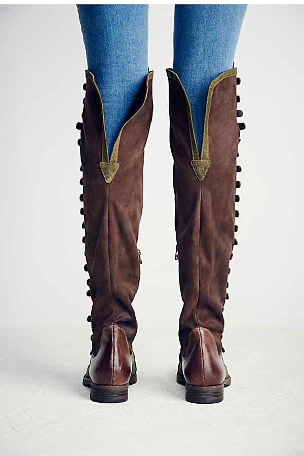 Slide View 8: Black Forest Over-The-Knee Boot
