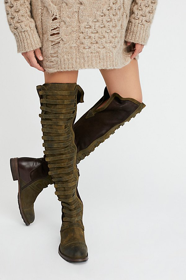 Slide View 5: Black Forest Over-The-Knee Boot