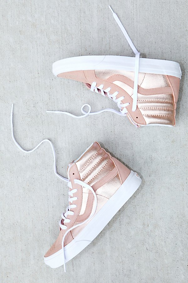 Slide View 1: Sk8-Hi Reissue Two-Tone Metallic Hi Top