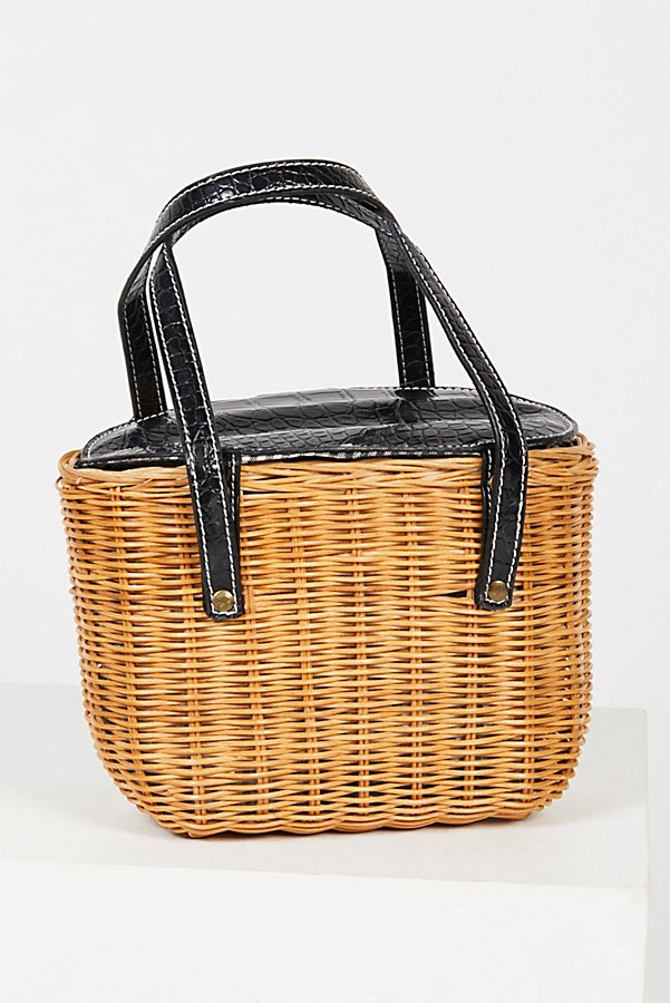 Slide View 3: Juliette Basket Bag