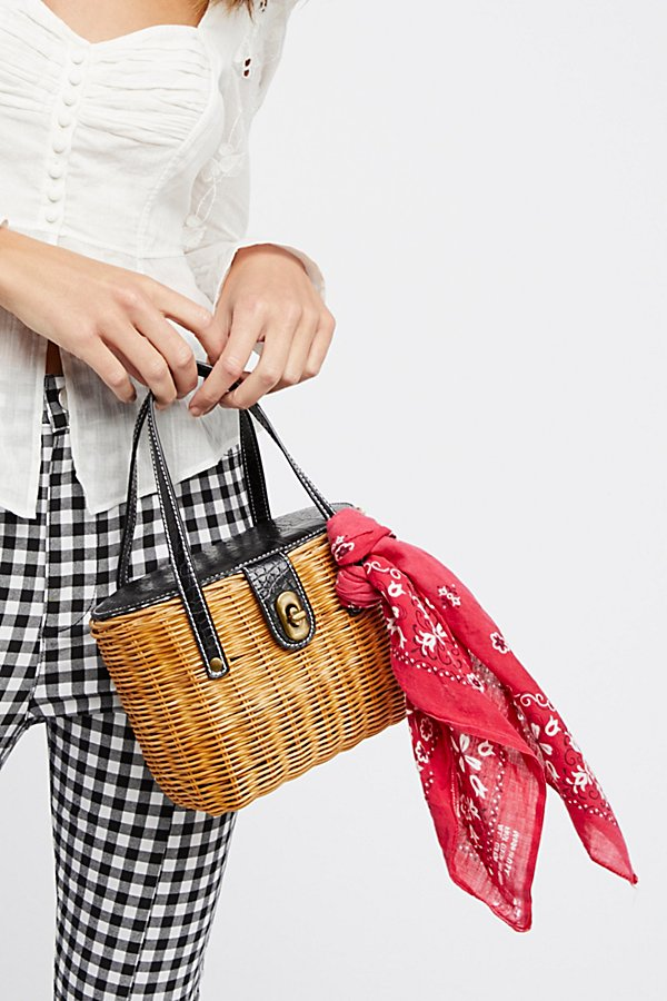 Slide View 1: Juliette Basket Bag