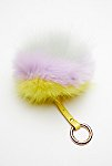 Thumbnail View 2: XL Faux Fur Pompom Bag Charm