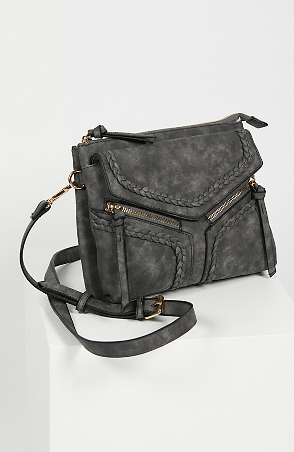 Slide View 2: Leanna Vegan Braided Crossbody