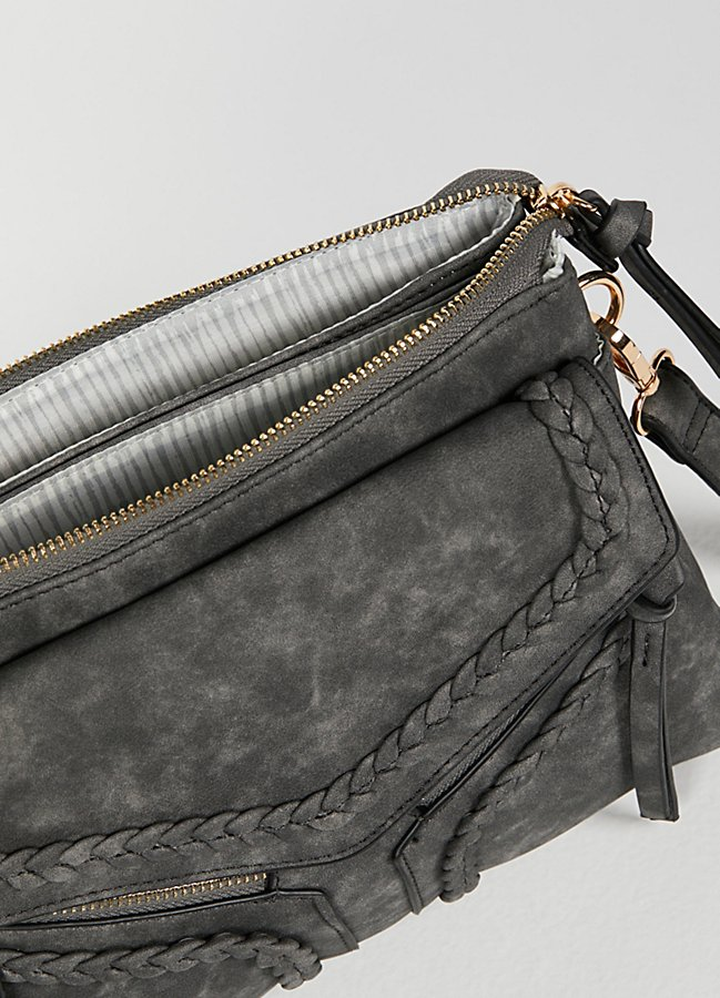 Slide View 6: Leanna Vegan Braided Crossbody