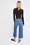 Thumbnail View 2: Pleated Denim Trouser
