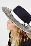Thumbnail View 1: Triptych Metallic Brimmed Hat