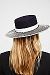 Thumbnail View 3: Triptych Metallic Brimmed Hat