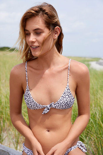 Slide View 1: Cathedral Printed Bikini Top
