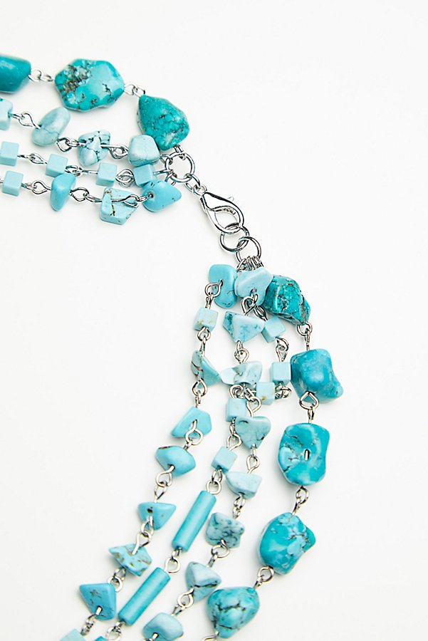 Slide View 3: Meet Me In Austin Turquoise Necklace