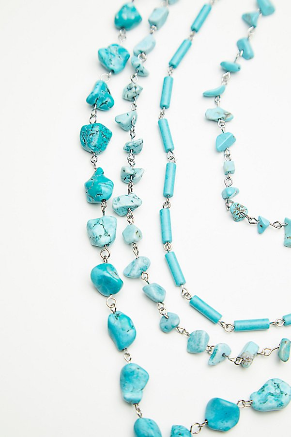 Slide View 4: Meet Me In Austin Turquoise Necklace