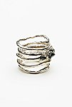 Thumbnail View 3: Twisted  Raw Stones Ring