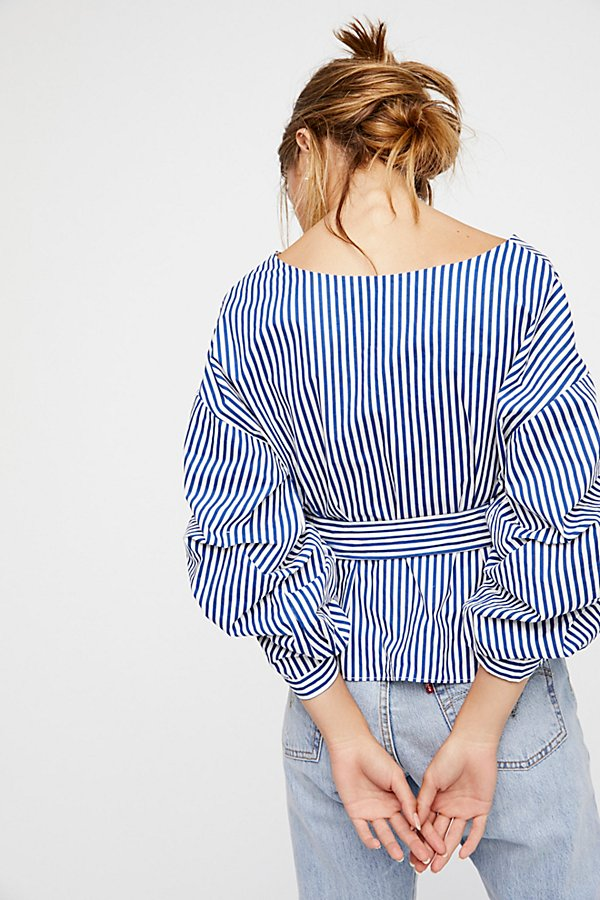 Slide View 4: Madeline Wrap Top