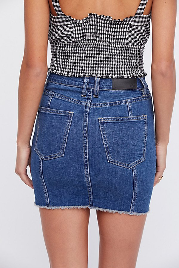 Slide View 3: Twiggy Denim Skirt