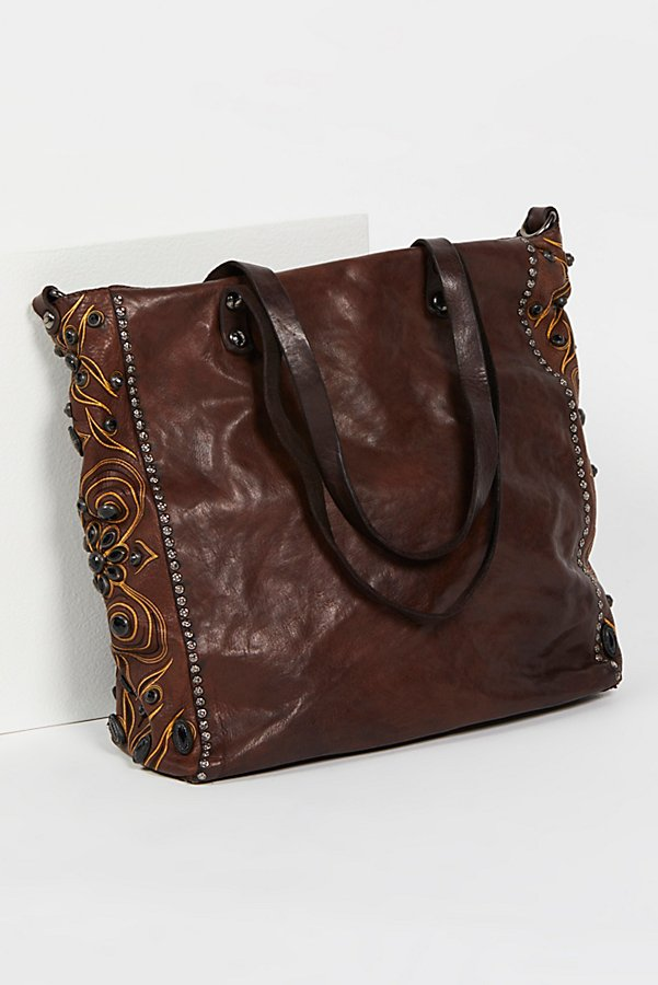 Slide View 1: Baroque Distressed Tote