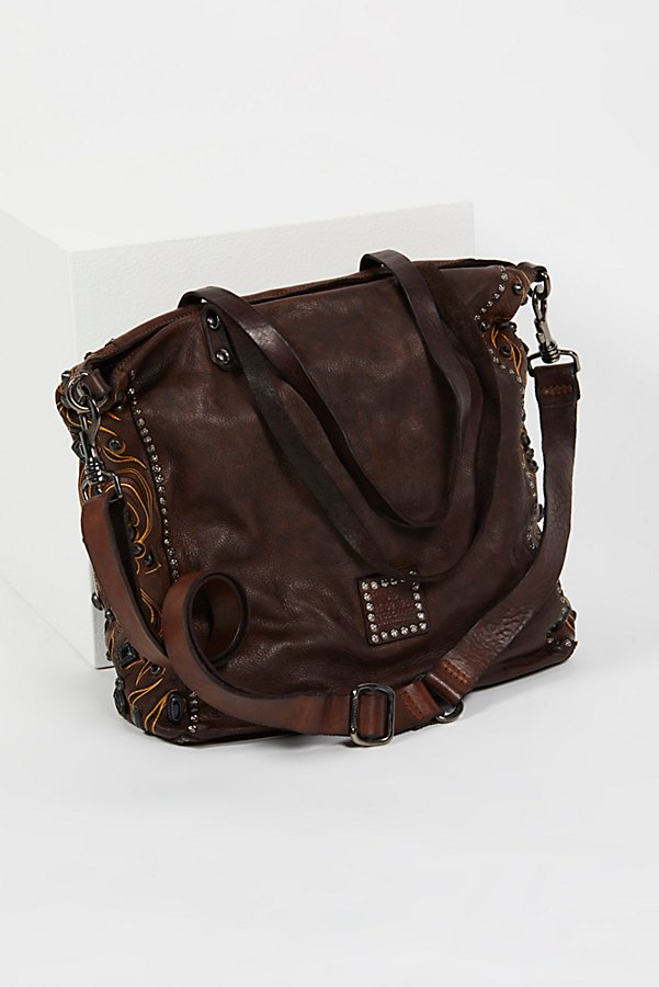 Slide View 3: Baroque Distressed Tote
