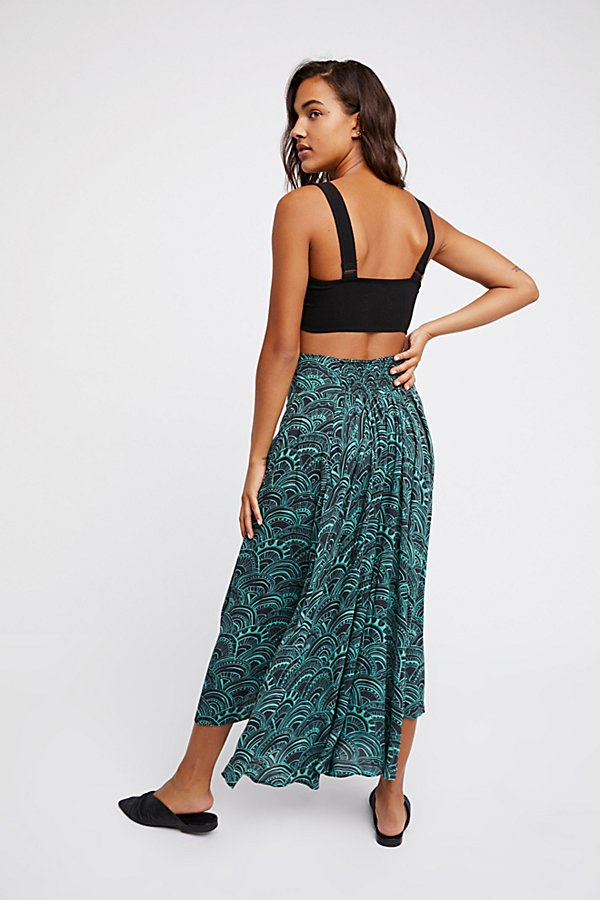 Slide View 2: Floral Fields Maxi Culotte