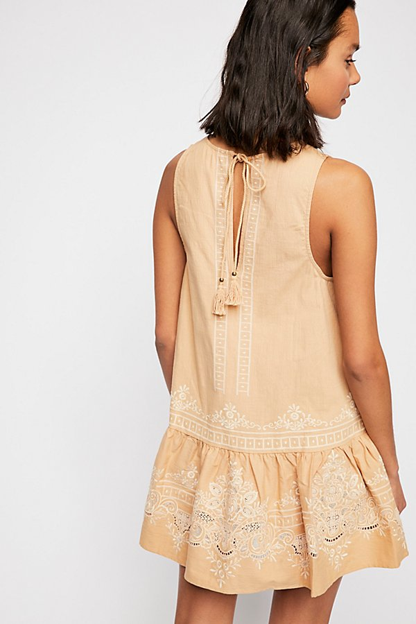 Slide View 2: Darling Embroidered Mini Dress