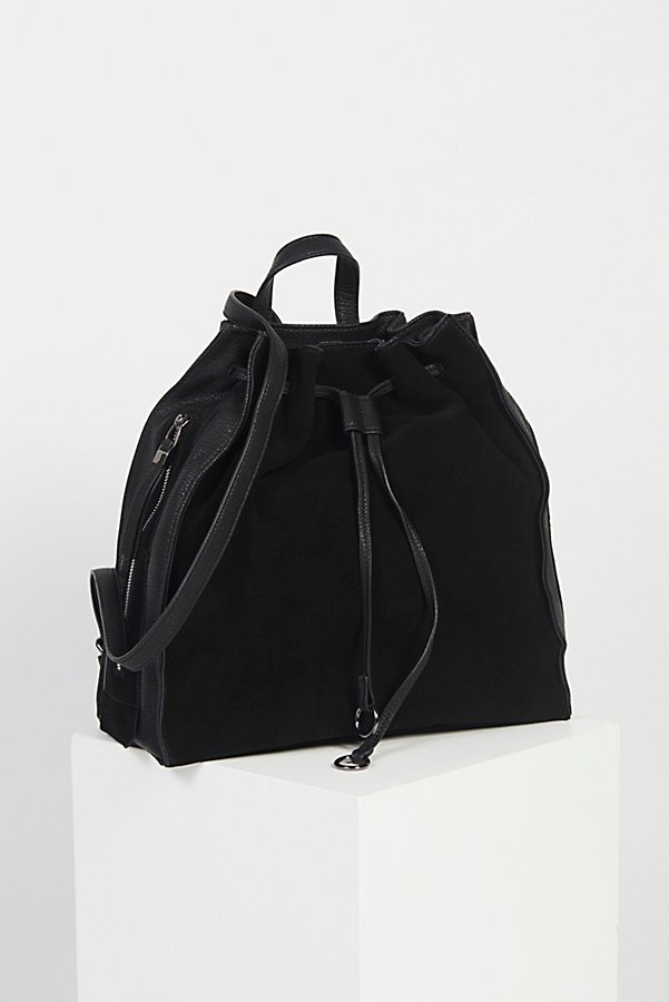 Slide View 1: Brooklyn Suede Backpack