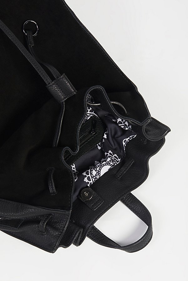 Slide View 5: Brooklyn Suede Backpack