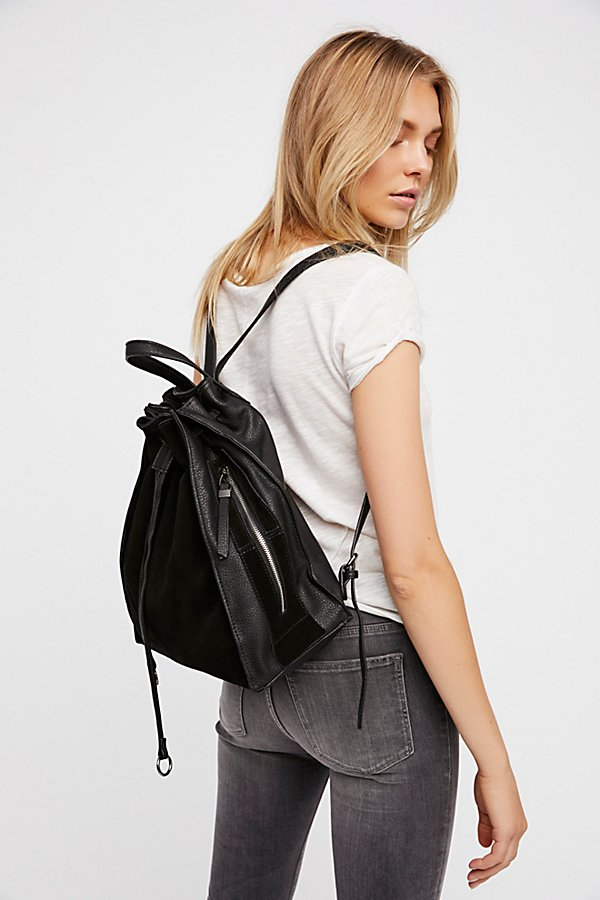 Slide View 6: Brooklyn Suede Backpack