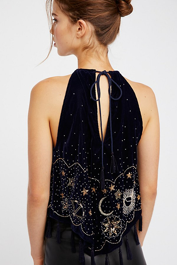 Slide View 2: Midnight Magic Embellished Tank