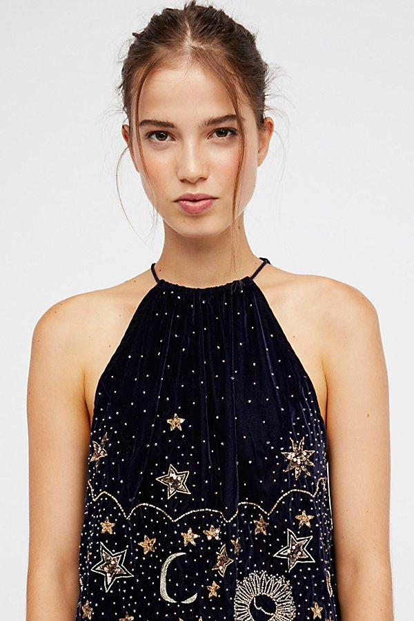 Slide View 3: Midnight Magic Embellished Tank
