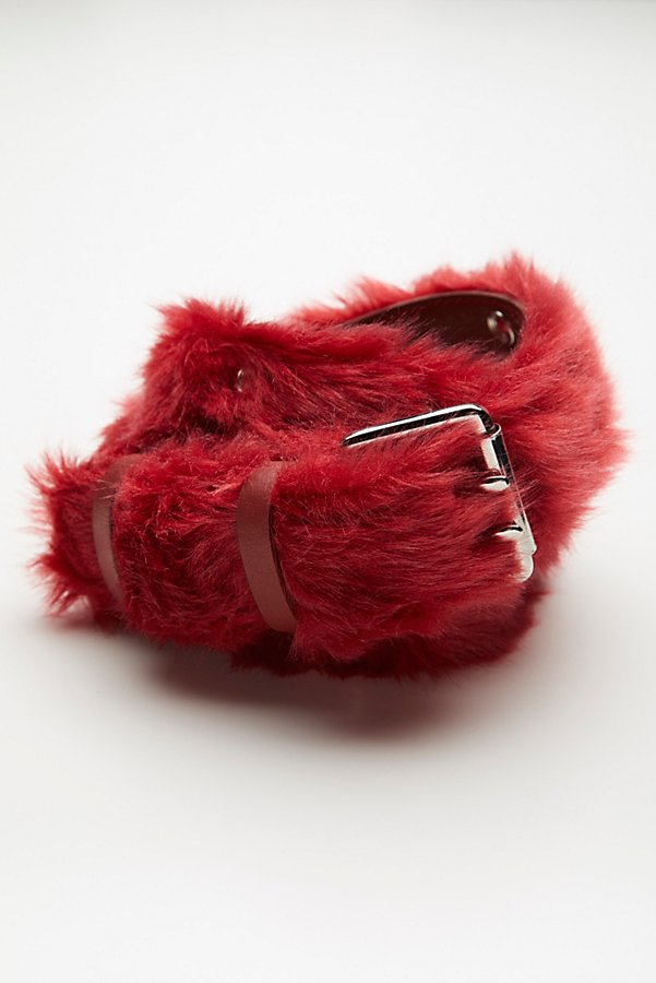 Slide View 2: Wild Thing Faux Fur Belt