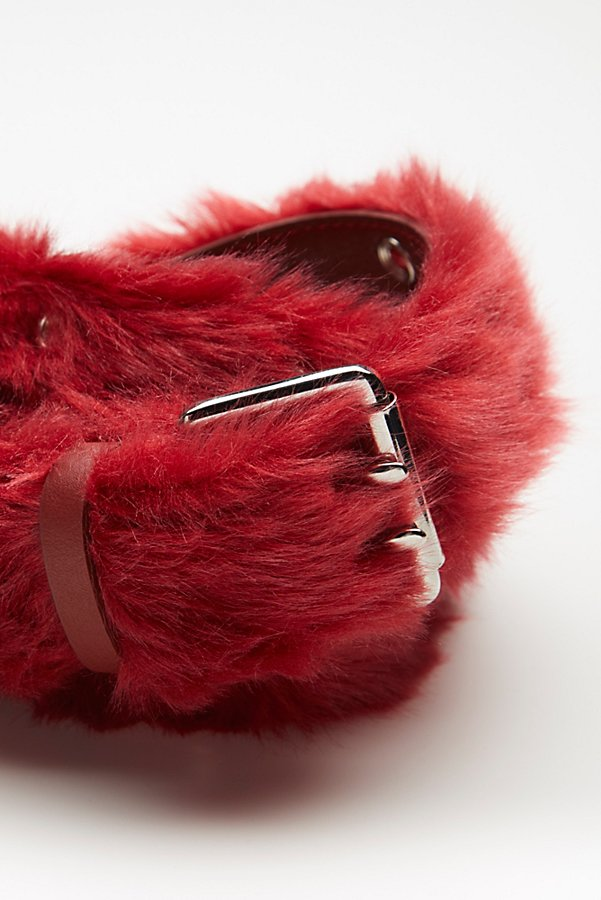 Slide View 3: Wild Thing Faux Fur Belt