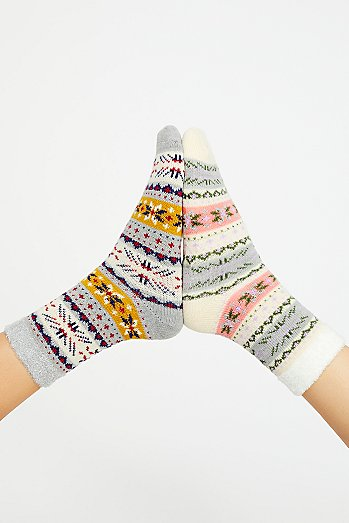 Polar Slipper Sock