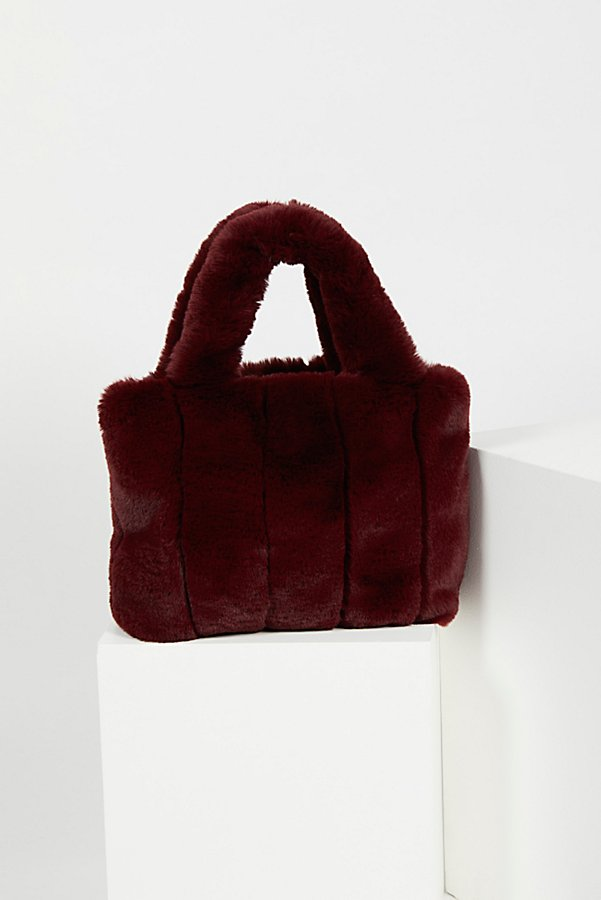 Slide View 5: Dolce Faux Fur Tote