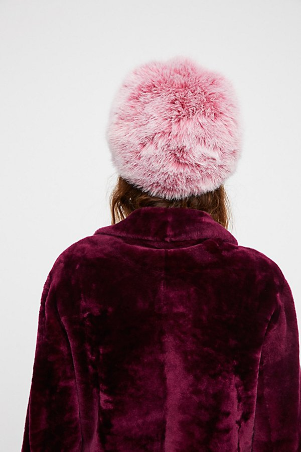 Slide View 2: Get A Clue Faux Fur Cap