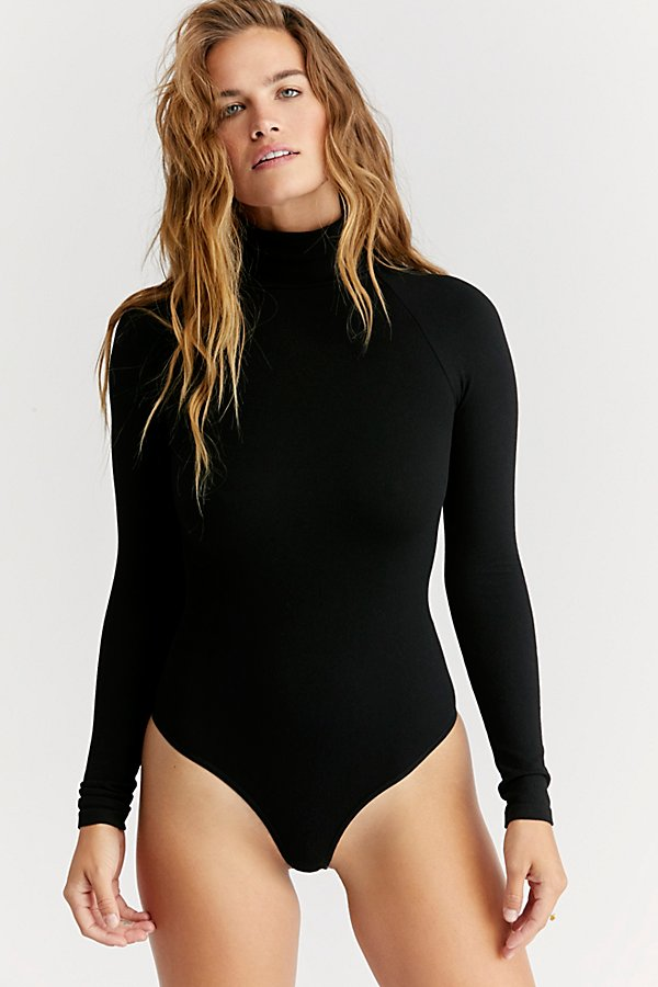 Slide View 2: Seamless Turtleneck Bodysuit